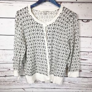 Halogen Button Up Cardigan Sweater